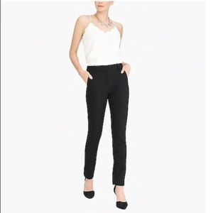 J. Crew Cropped Ruby pant in stretch twill